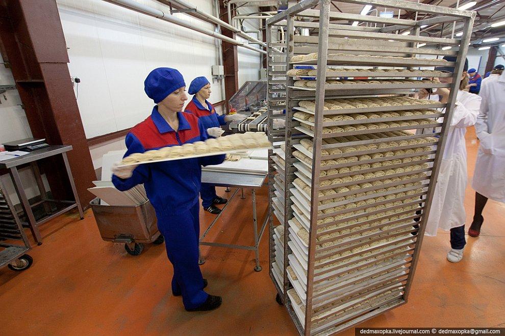Современное производство пельменей