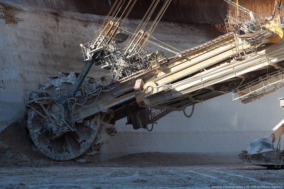 Механические монстры: шагающий экскаватор