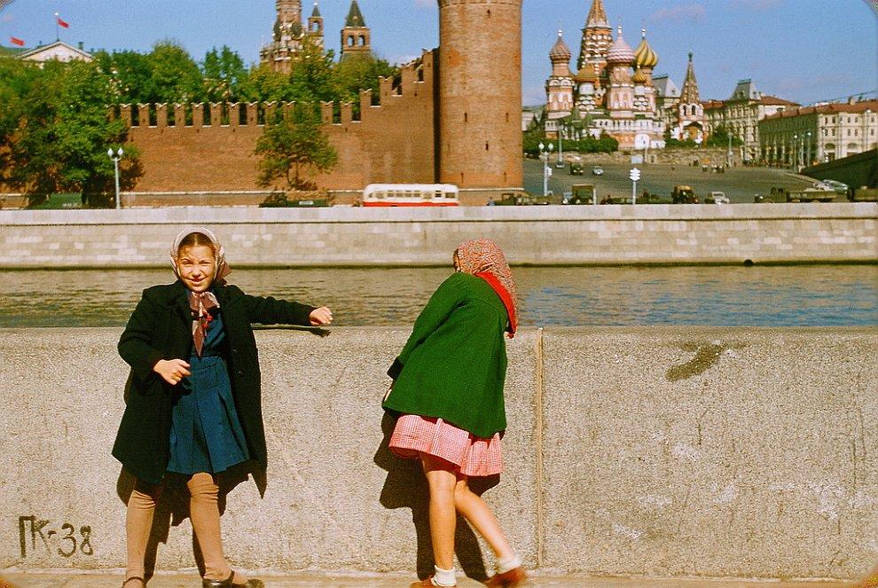 Москва 1956 года в фотографиях