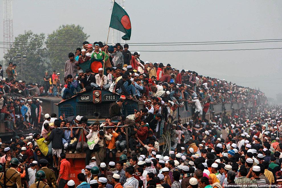 В конце октября население Земли увеличится до 7 миллиардов