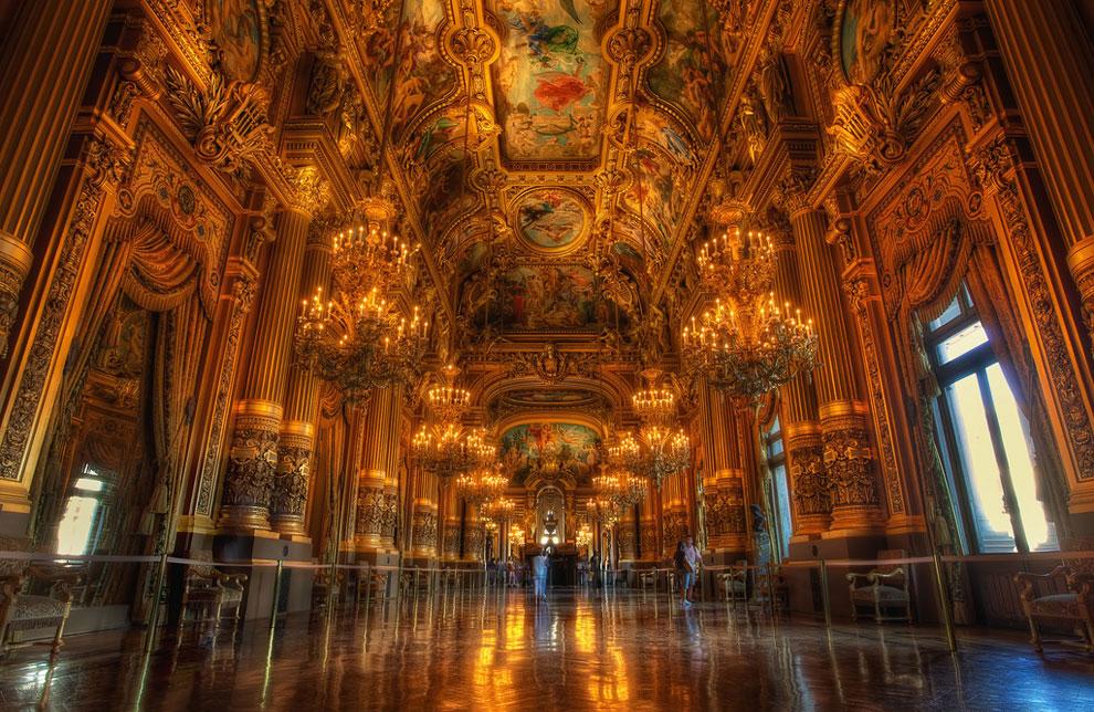 Фойе парижской Гранд Оперы