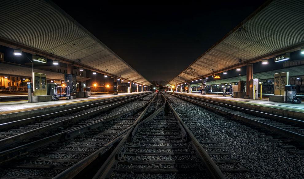 Станция метро в Лос Анжелесе, Калифорния