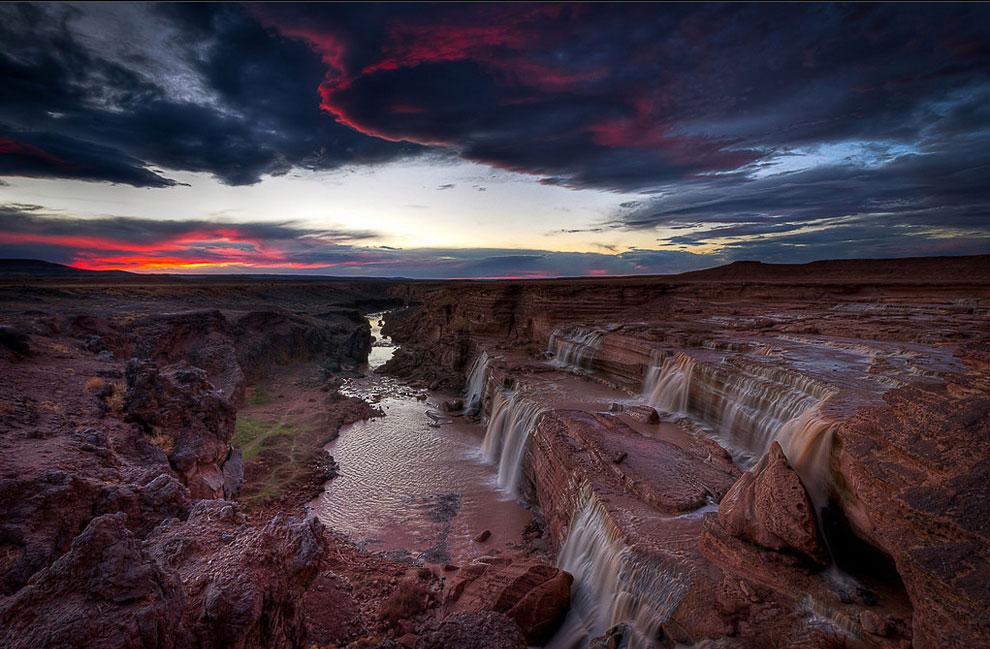 Водопады в Аризоне