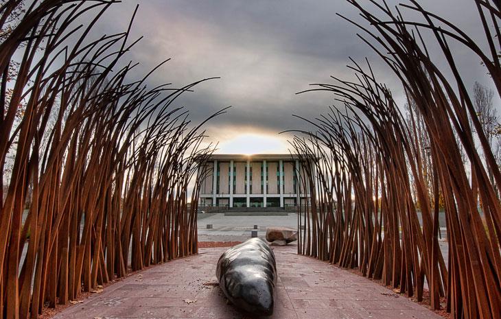 Национальная библиотека в городе Канберра
