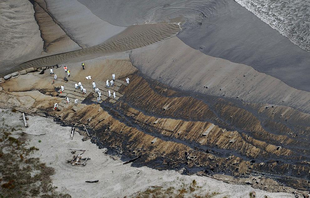 Крушение нефтяного танкера у берегов Новой Зеландии
