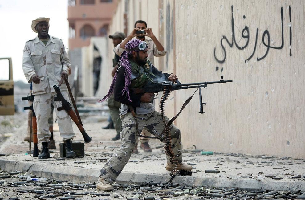 Война в Ливии: гибель Муаммара Каддафи
