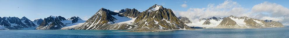Панорама фьорда Магдалена