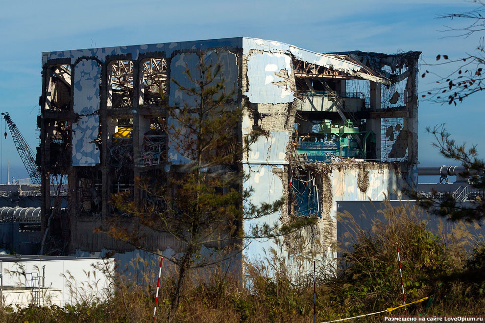 Экскурсия на разрушенную АЭС «Фукусима-1»