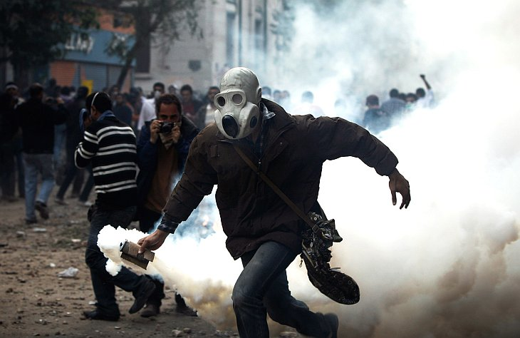 Кровопролитные столкновения в Египте