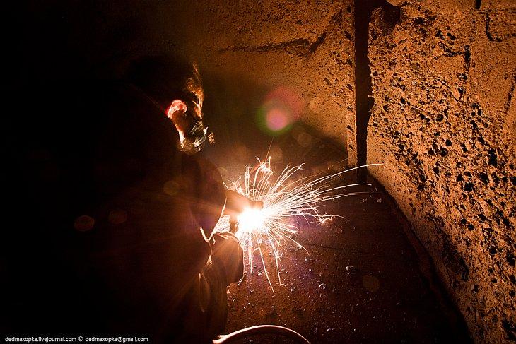 Загадочная подземная красота: заброшенная шахта