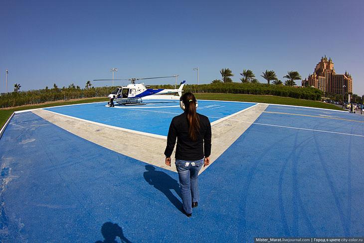 Дубай с высоты птичьего полета