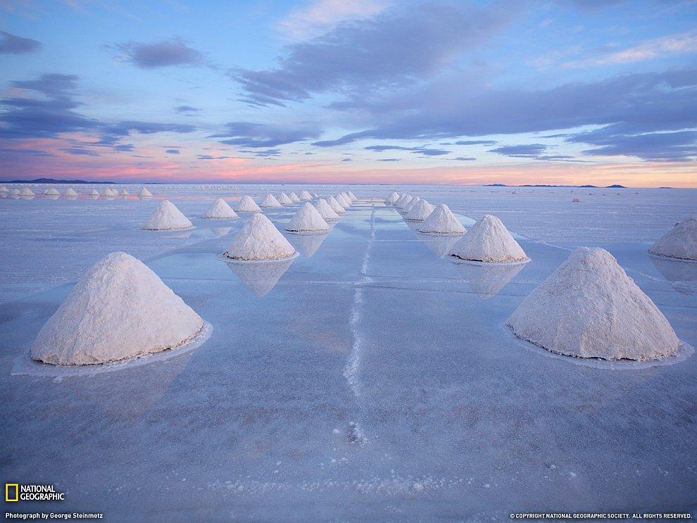 Соляные конусы, Боливия