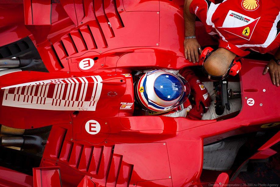 Болиды Формулы-1: Феррари