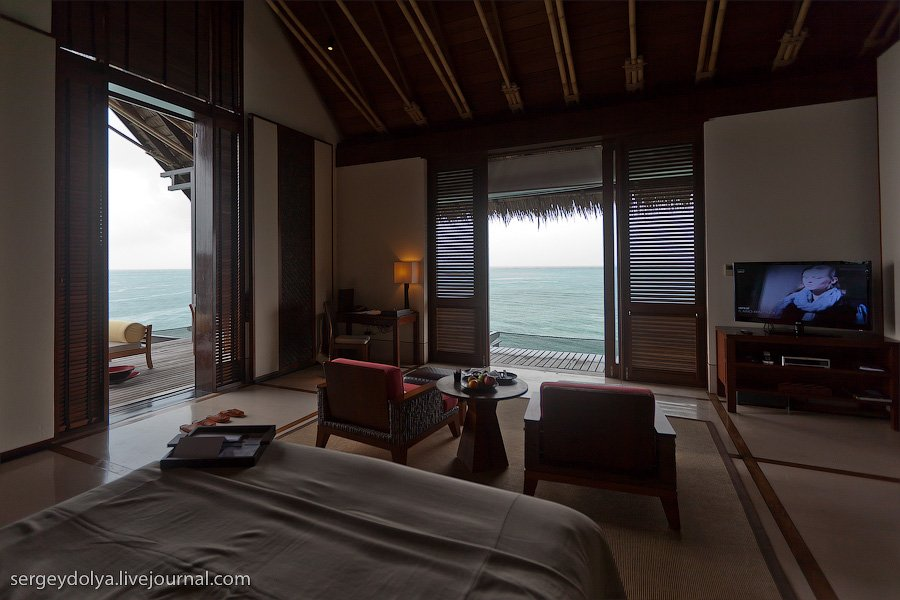 Райский отдых и лучший отель на Мальдивах