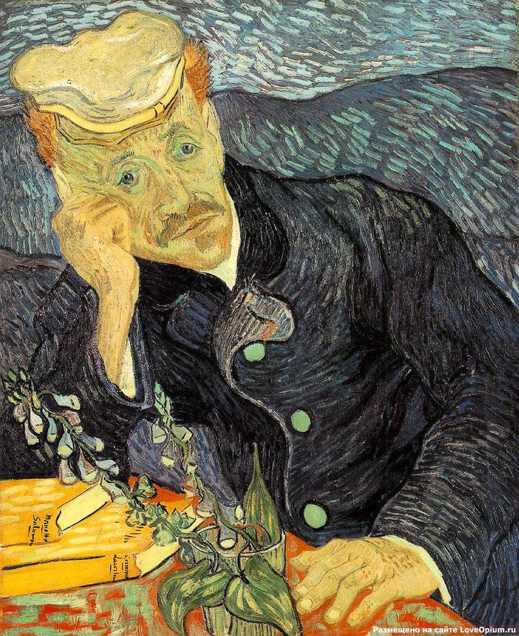 Портрет доктора Гоше, Винсент ван Гог