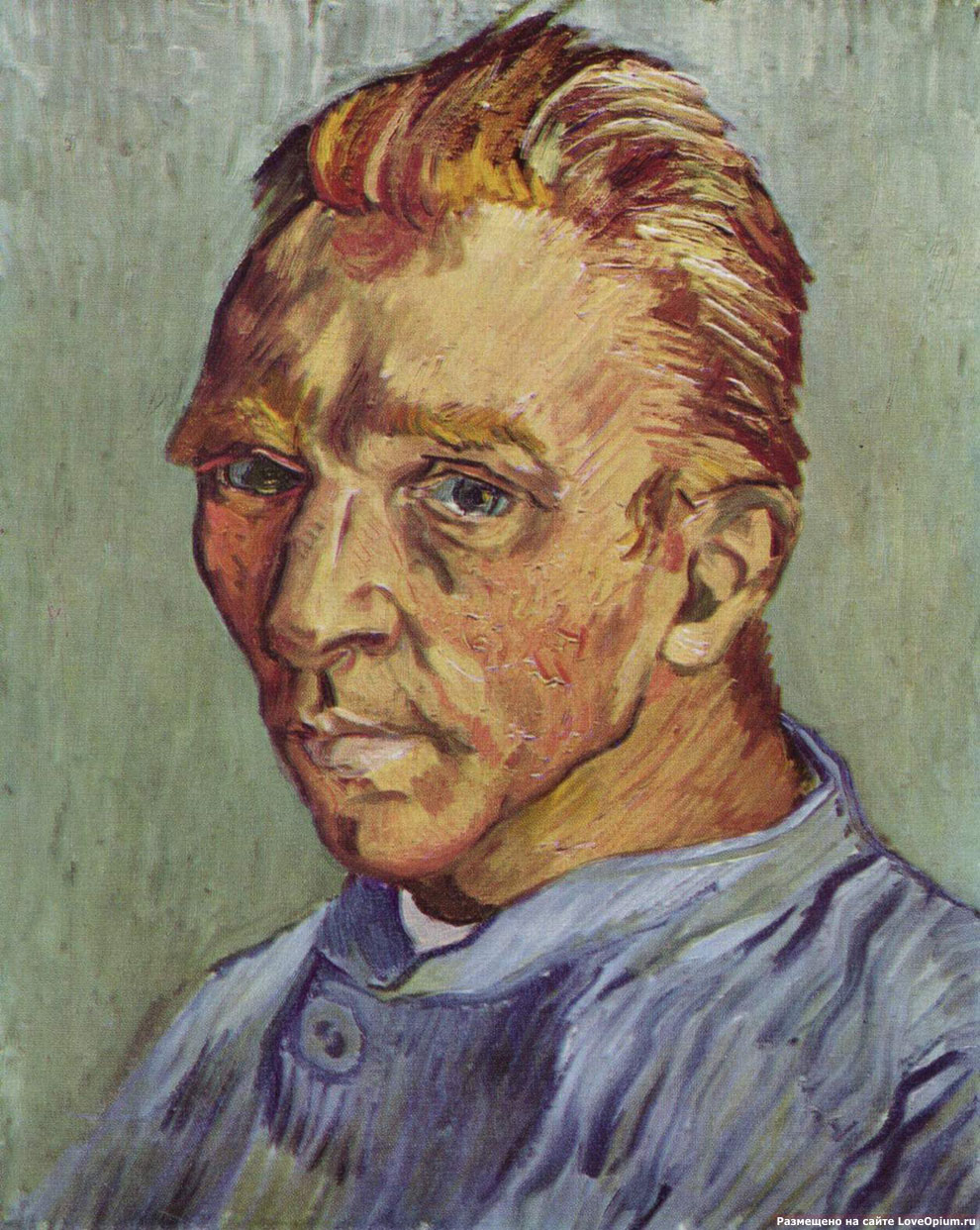 Автопортрет без бороды, Винсент ван Гог
