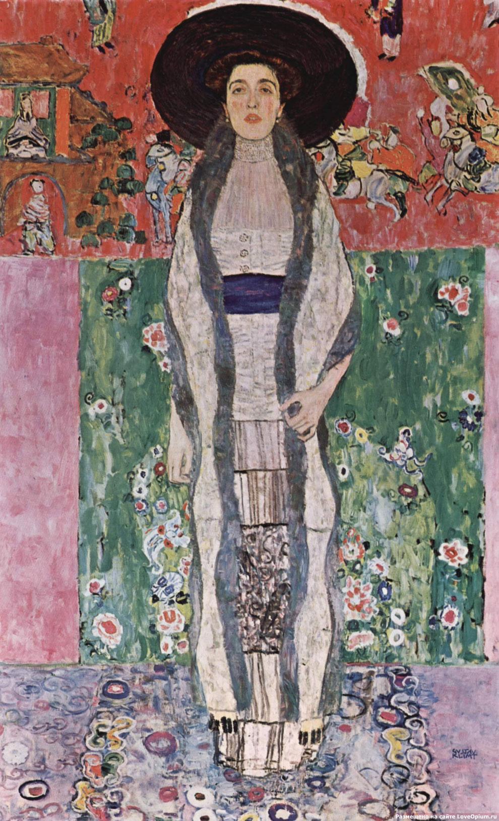 Портрет Адели Блох-Бауэр II, Густав Климт