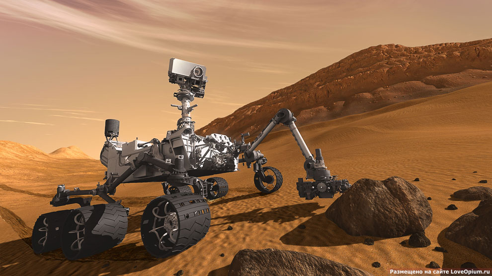 В поисках жизни на Марсе: новый марсоход отправился на Красную планету