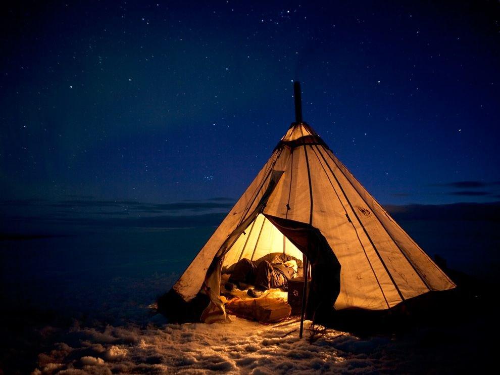 Ночь в Скандинавии