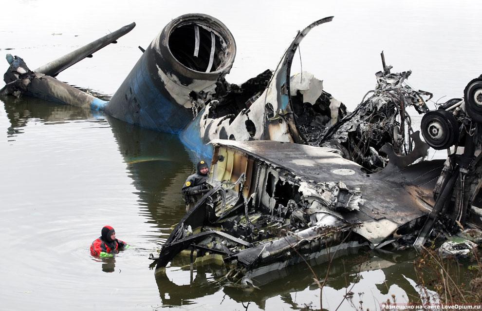 Авиакатастрофа в Ярославле