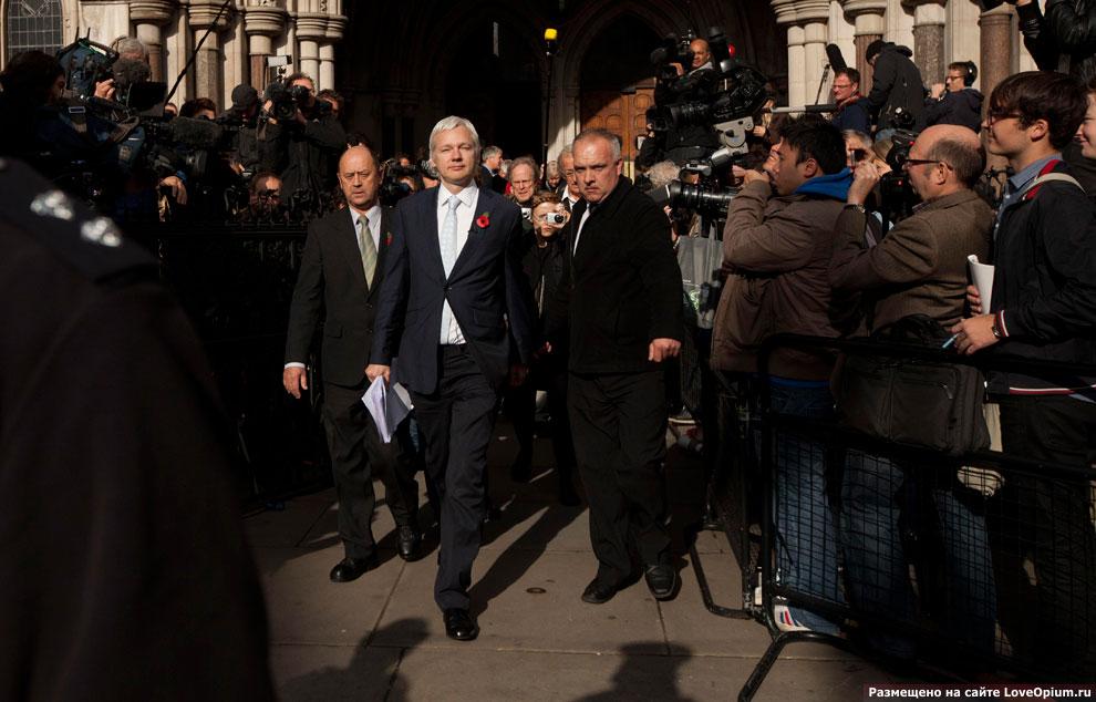 Решение британского суда от экстрадиции Джулиана Ассанжа