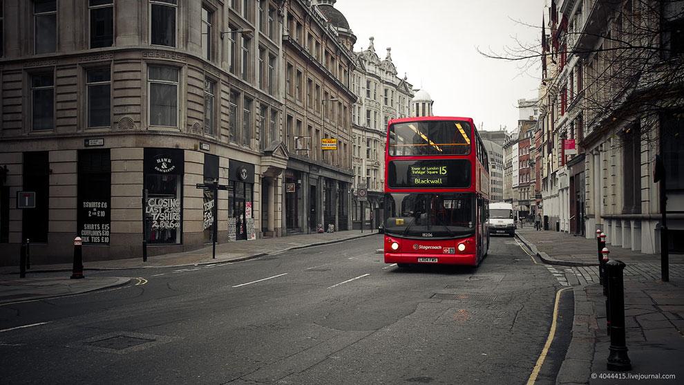 Открытки с видами Лондона