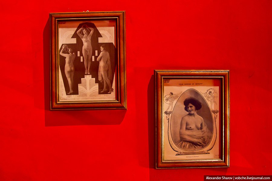 Музей эротики в Праге
