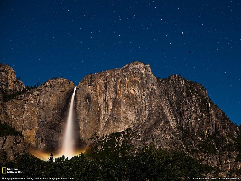 Йосемитский водопад, Калифорния