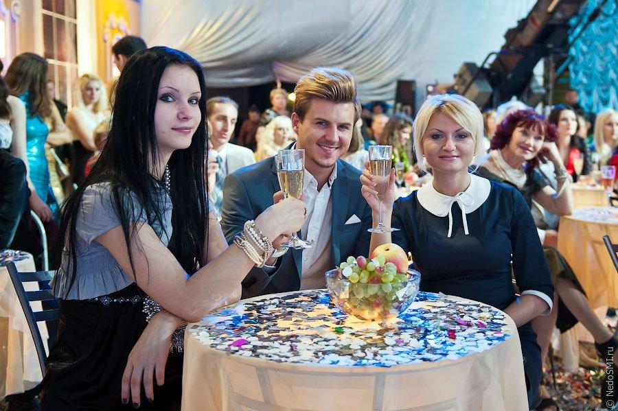 Съемки новогодней программы «Голубой огонек» 2012