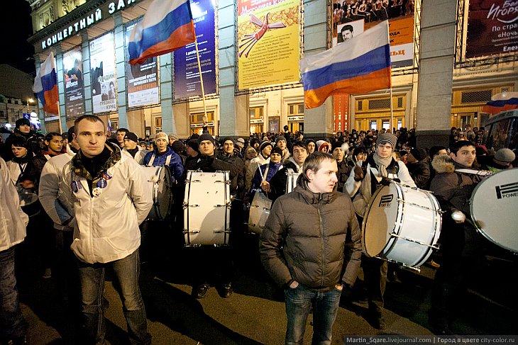 Акции протеста в Москве против результатов выборов