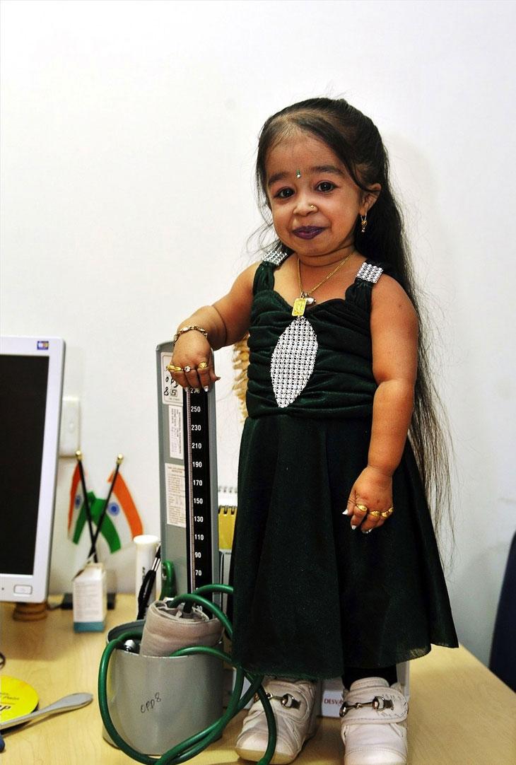 Рекорд Гиннеса: самая маленькая женщина в мире