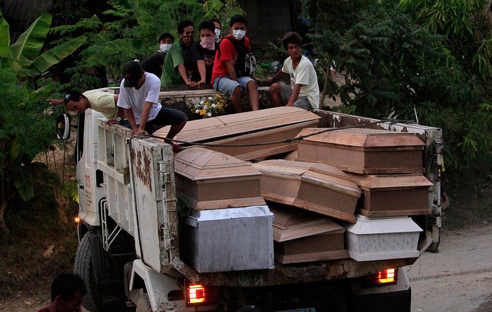 Тропический шторм Washi на Филиппинах