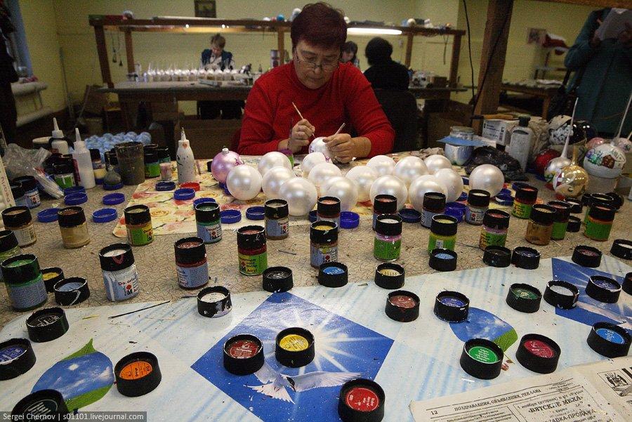 Экскурсия на производство елочных игрушек