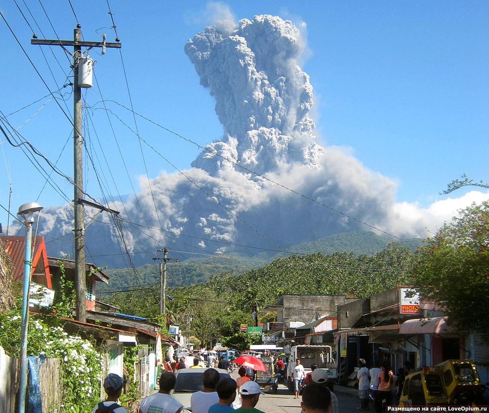 Вулкан Булусан