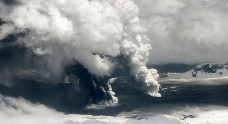 Вулкан Хадсон в Чили