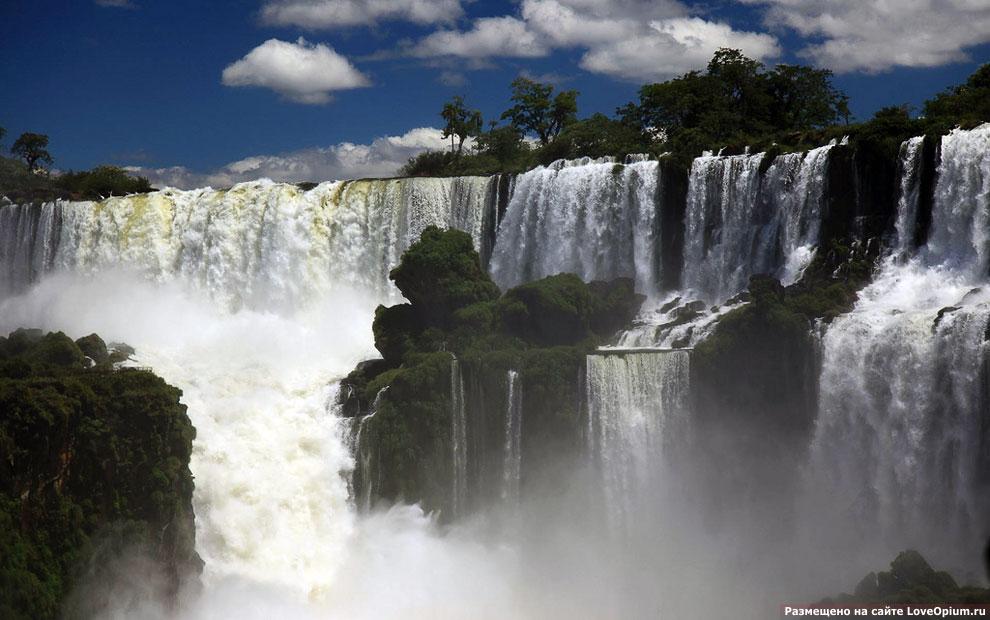 Водопады игуасу аргентина и бразилия