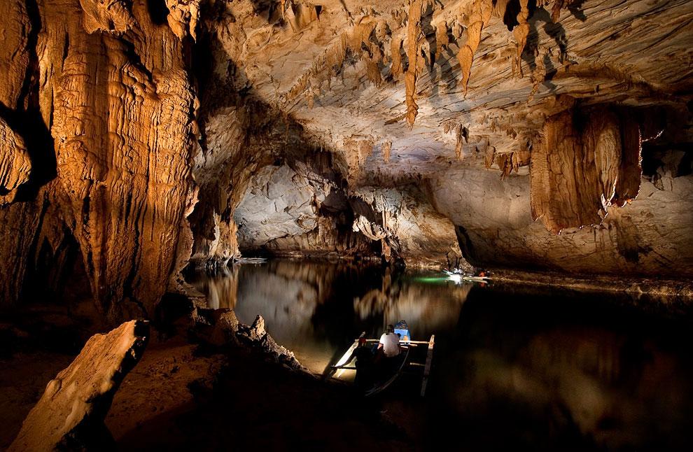 Подземная река Пуэрто-Принсеса, Филиппины