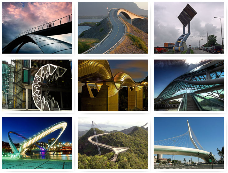 фото самые необычные мосты мира