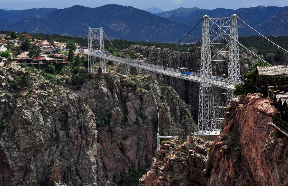 Мост Royal Gorge