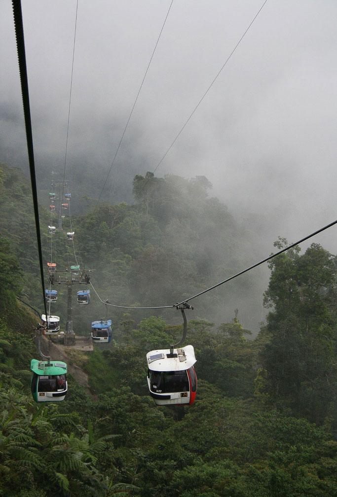 Канатная дорога Гентинг (Малайзия)