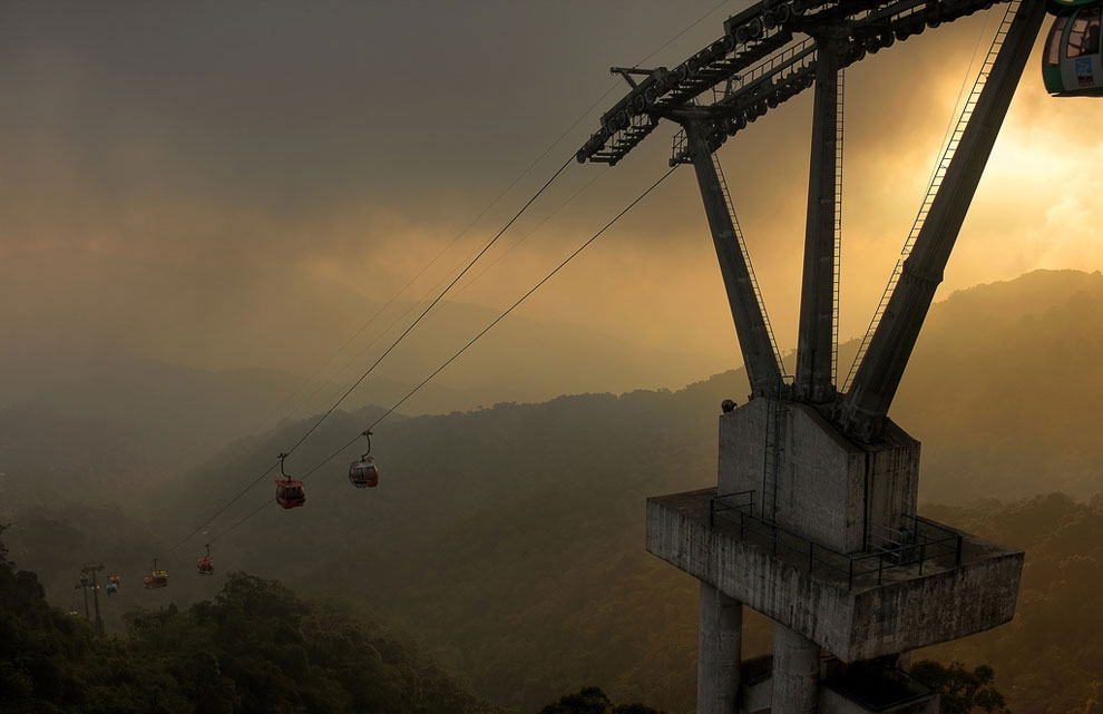 The cable car Genting (Malaysia)