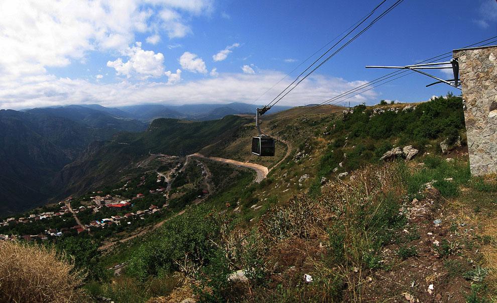 Татевская канатная дорога (Армения)