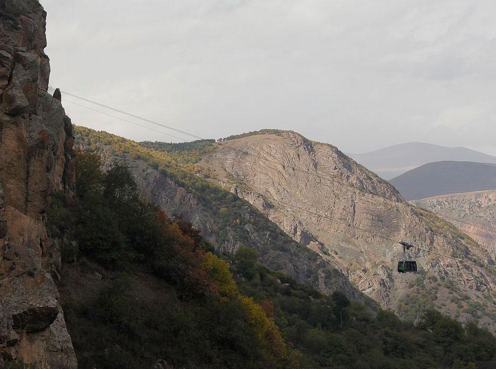 Tatev ropeway (Armenia)