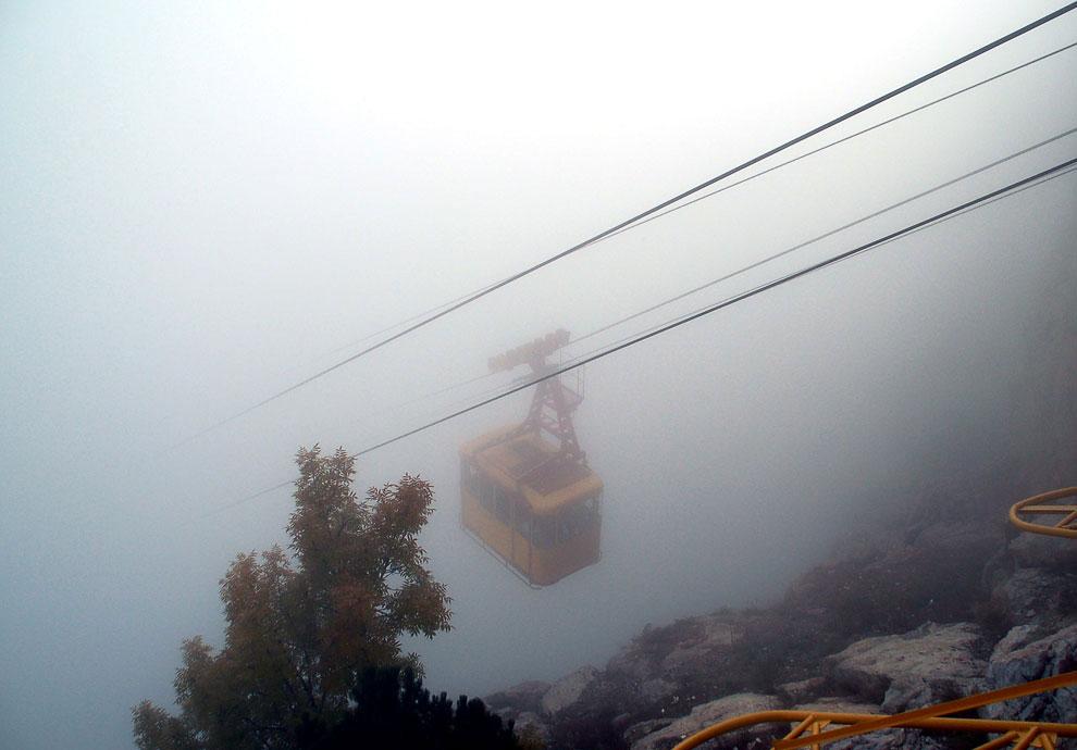 Cableway Mishor - Ai-Petri (Crimea)