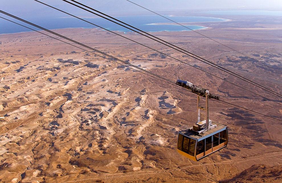 Канатная дорога Масада (Израиль)