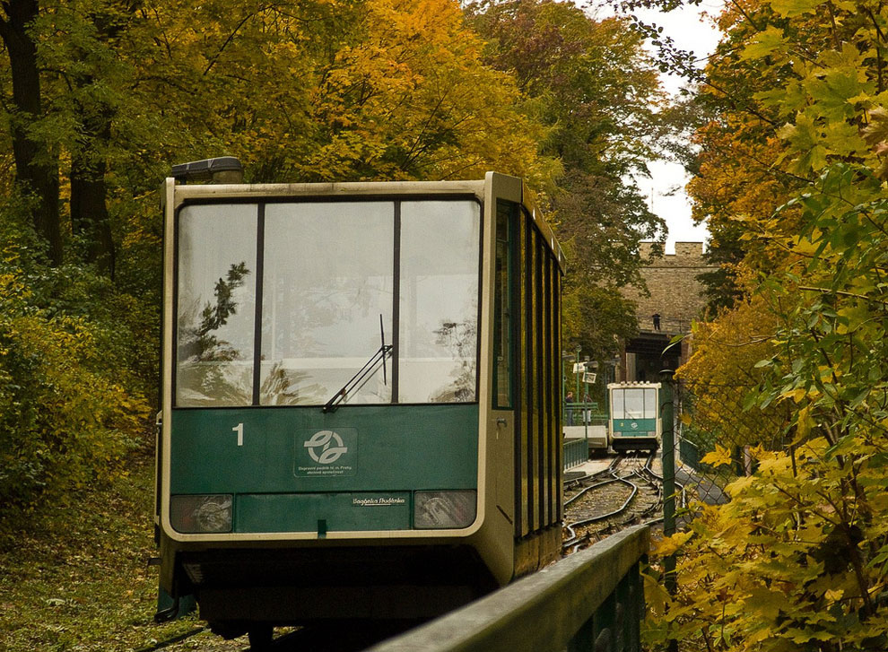 Prague cableway