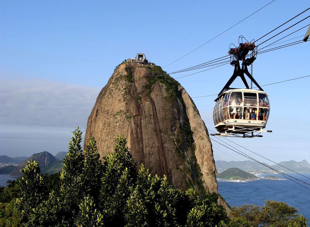 Канатная дорога Complexo do Alemao (Бразилия)