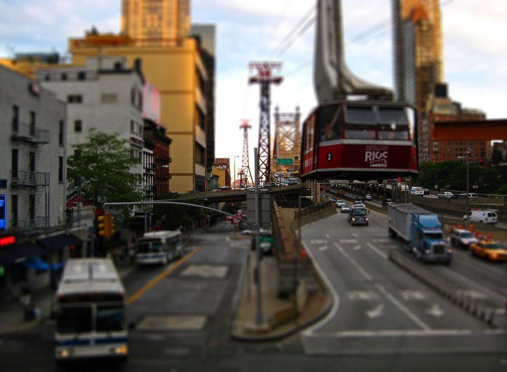 Канатная дорога Манхэттен — остров Рузвельта