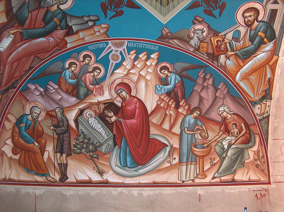 Встреча Рождества Христова у православных христиан