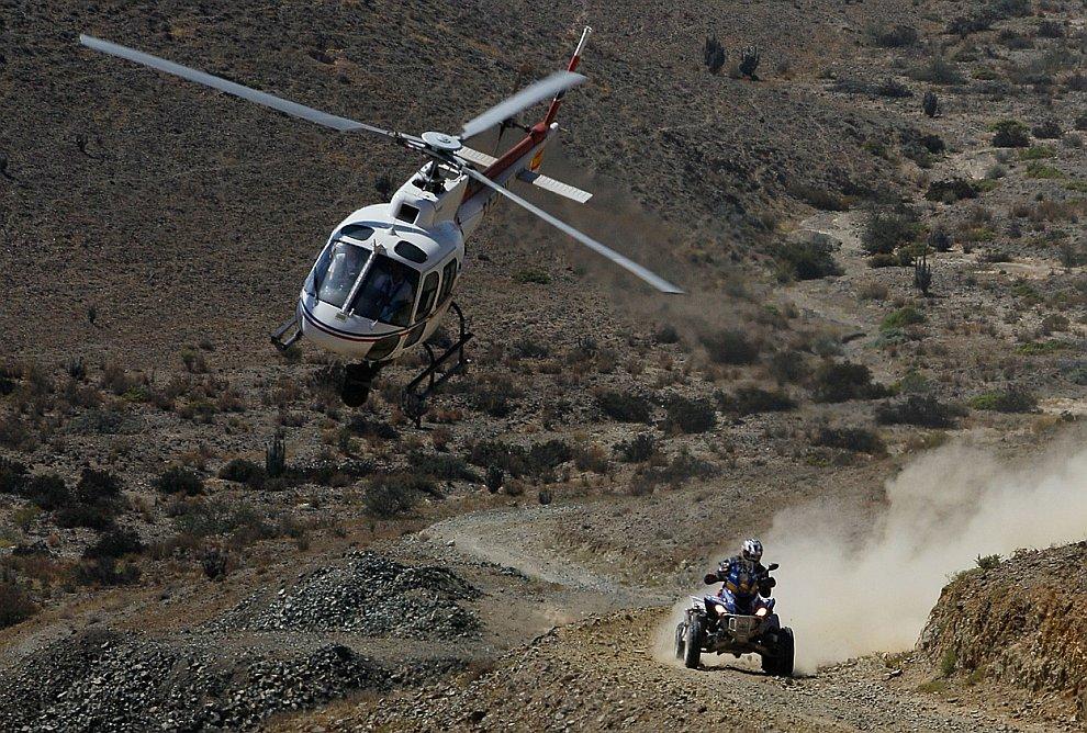 Гонки в пустыне: ралли Дакар 2012